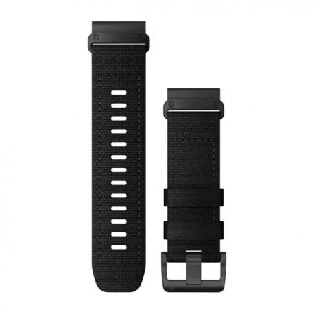 Nylonowy pasek QuickFit Tactix Delta Czarny 26mm