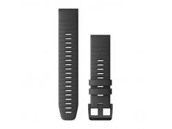 Silikonowy pasek QuickFit Fenix 6 Szary 22mm