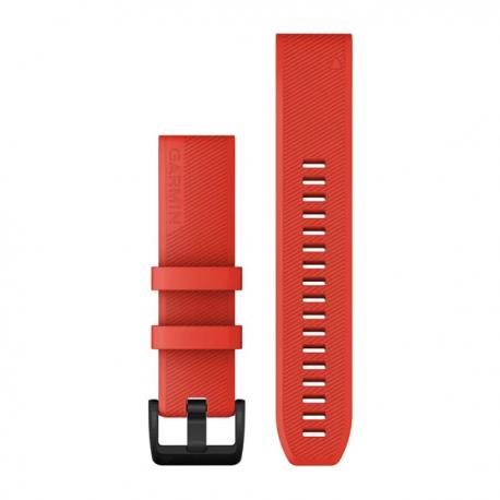 Silikonowy pasek QuickFit Fenix 5/6 Approach S60 Czerwony 22mm