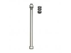 Zaciski do osi E-Thru Tacx do klasycznych trenażerów do koła tylnego 12 mm × 1,75