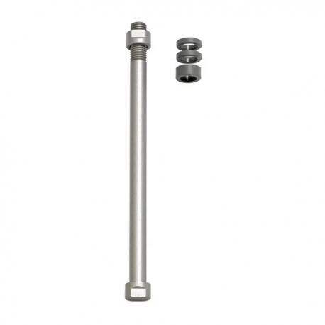 Zaciski do osi E-Thru Tacx do klasycznych trenażerów Tylne koło 12 mm × 1,75