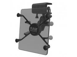 RAM Mounts uchwyt X-Grip II™ do małych tabletów montowany do krawędzi płaskich powierzchni