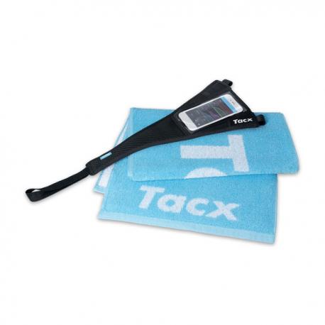 Osłona przeciwpotowa Tacx Sweat Set z kieszenią na telefon i ręcznikiem