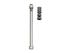 Zaciski do osi E-Thru Tacx do klasycznych trenażerów do koła tylnego 12 mm × 1