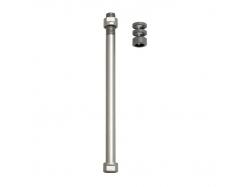 Zaciski do osi E-Thru Tacx do klasycznych trenażerów do koła tylnego 12 mm × 1,5