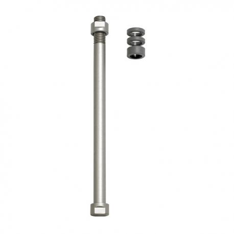 Zaciski do osi E-Thru Tacx do klasycznych trenażerów Tylne koło 12 mm × 1,5