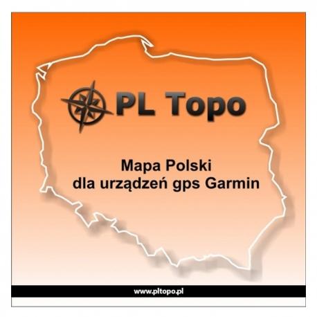 MAPA POLSKI PL TOPO