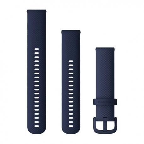 Pasek do Venu Sq/FR 245/645/Vivoactive3/Vivomove (20mm) Granatowy