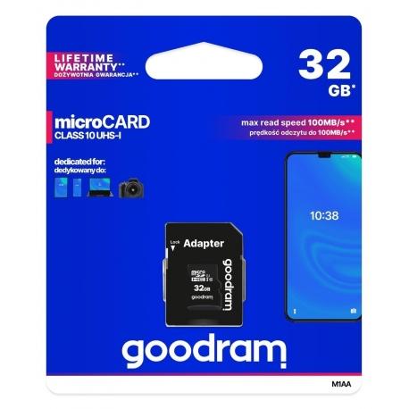 Goodram karta pamięci microSD 32 GB UHS-I