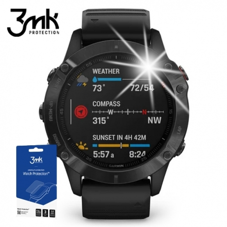 Folia ochronna 3mk Watch Protection Garmin Fenix 6 - 3szt.