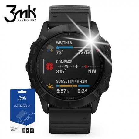 Folia ochronna 3mk Watch Protection Garmin Fenix 6x - 3szt.