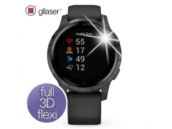 Folia ochronna Gllaser FULL 3D FLEXI Garmin Vivoactive 4s - 2szt.