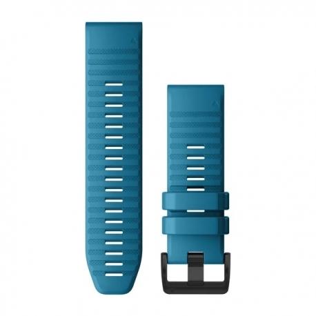 Silikonowy pasek QuickFit Fenix 6x błękitny 26mm