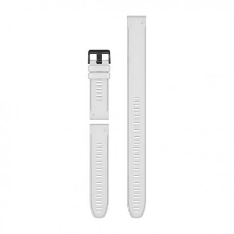 Silikonowy pasek QuickFit Fenix 6x biały (zestaw 3 sztuki) 26mm