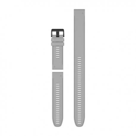 Silikonowy pasek QuickFit Fenix 6x szary (zestaw 3 sztuki) 26mm