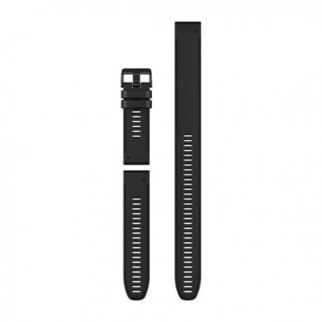Silikonowy pasek QuickFit Fenix 6x czarny (zestaw 3 sztuki) 26mm