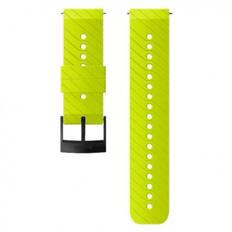 Pasek do zegarka Suunto 24mm Athletic 3 Silicone Strap Lime Black Size M