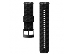 Suunto pasek do zegarka 24mm explore 2 silicone strap black black size M