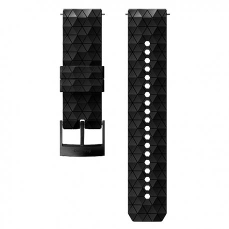 pasek do zegarka Suunto 24mm Explore 2 Silicone Strap Black Black Size M