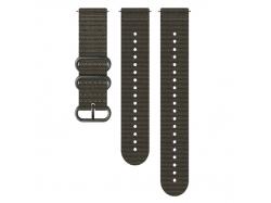Suunto pasek do zegarka 24mm explore 2 textile strap foliage gray size ML
