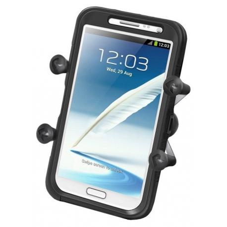 RAM Mounts Uniwersalny uchwyt X-Grip™ IV do dużych smartfonów z 1 calową głowicą obrotową