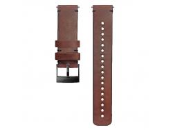 Suunto pasek do zegarka 24mm urban 2 leather strap brown black size M