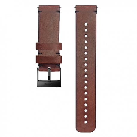 pasek do zegarka Suunto 24mm Urban 2 Leather Strap Brown Black Size M