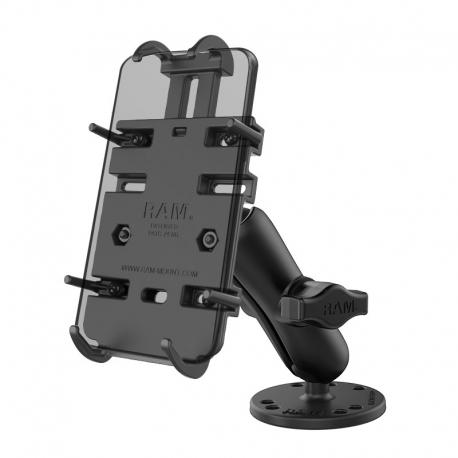 RAM Mounts Uchwyt do telefonu Quick-Grip™ z przywiercaną podstawą