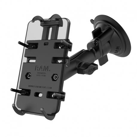 RAM Mounts Uchwyt do telefonu z podstawą z przyssawką RAM® Twist-Lock™