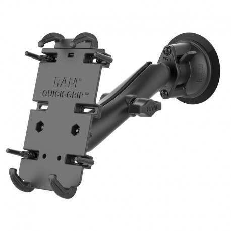 RAM Mounts Uchwyt Quick-Grip™ XL do telefonu z przyssawką RAM® Twist-Lock ™