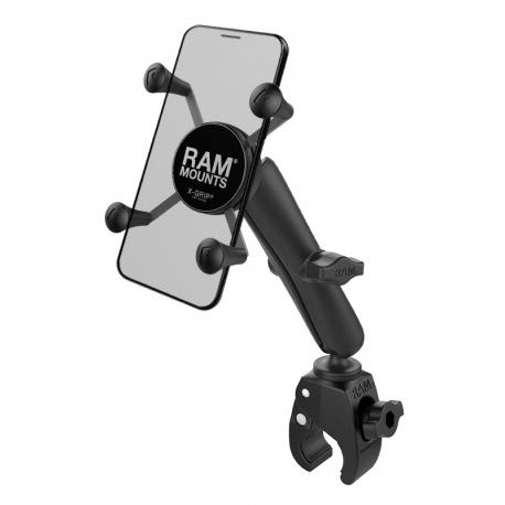 UCHWYT X-GRIP DO PRZENOŚNYCH URZĄDZEŃ Z KLAMRĄ ZACISKOWĄ RAM TOUGH-CLAW [RAM-B-400-C-UN7U]