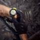 Suunto pasek do zegarka 24mm silikonowy Urban 3, Black Lime, rozmiar M