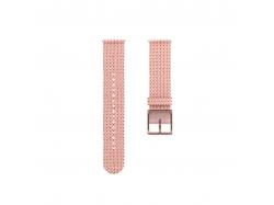 Polar pasek tekstylny Różowo-złoty 20mm