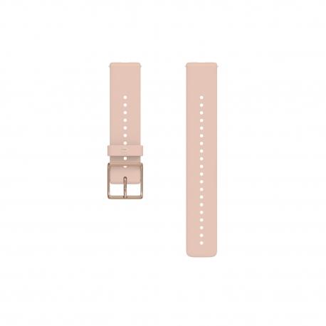 Polar pasek silikonowy Różowo-złoty 20mm rozmiar S-L