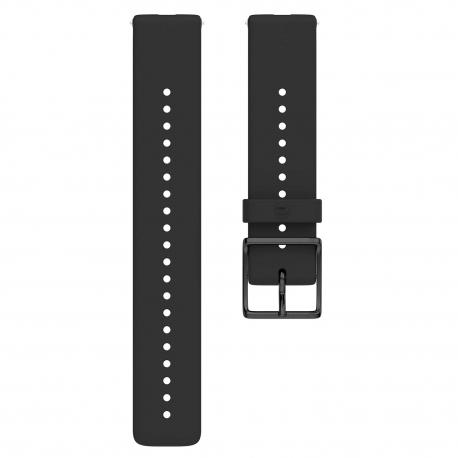 Polar pasek silikonowy Czarny 20mm rozmiar M/L