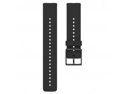 Polar pasek silikonowy Czarny 20mm rozmiar S