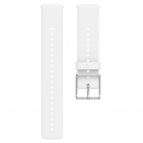 Polar pasek silikonowy Biały 20mm rozmiar M/L
