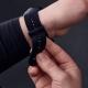 Suunto Pasek do zegarka z mikrofibry Urban 5 o szerokości 24 mm Black Black, rozmiar M