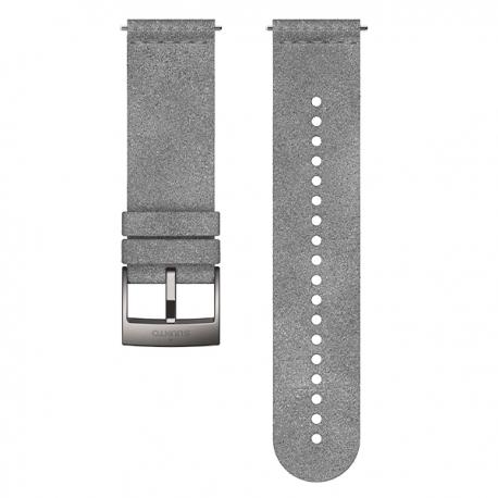 Pasek z mikrofibry Suunto Urban 5 o szerokości 24 mm Grey Steel, rozmiar M