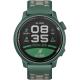 Coros Pace 2 Zielony z silikonowym paskiem