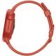 Coros Pace 2 Czerwony z silikonowym paskiem