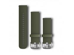 Pasek do Forerunner 245/645/Vivoactive/Vivomove (20mm) Zielony silikonowy