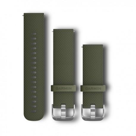 Pasek umożliwiający łatwe zdejmowanie (20mm) Zielony silikonowy