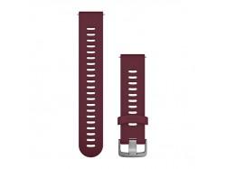 Pasek do Forerunner 245/645/Vivoactive/Vivomove (20mm) Wiśniowy