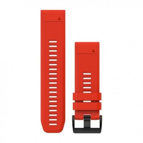 Silikonowy pasek QuickFit Fenix 5X Czerwony 26mm
