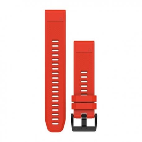 Silikonowy pasek QuickFit Fenix 5 Czerwony 22mm
