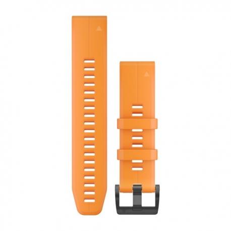 Silikonowy pasek QuickFit Fenix 5 Pomarańczowy 22mm