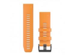 Silikonowy pasek QuickFit Fenix 5X Pomarańczowy 26mm