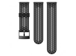 Suunto 24mm Athletic 1 Silicone Strap Black Black, rozmiar S+M