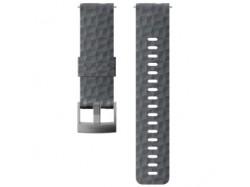 Suunto pasek do zegarka 24mm explore 1 silikonowy grafitowy szary rozmiar m